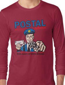 Funny Shirt - Postal Long Sleeve T-Shirt