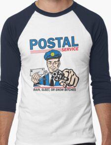 Funny Shirt - Postal Men's Baseball ¾ T-Shirt