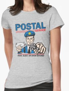 Funny Shirt - Postal Womens Fitted T-Shirt