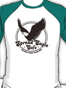 Funny Shirt - Spread Eagle Cafe T-Shirt