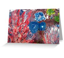 American Garden Greeting Card Greeting Card