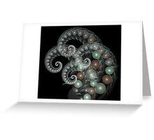 Pearl Curls Greeting Card