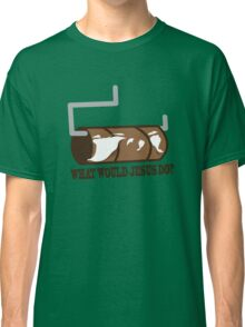 Funny Shirt - WWJD Classic T-Shirt