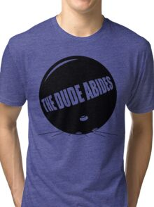 Funny Shirt - The Dude Abides Tri-blend T-Shirt