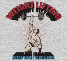 Funny Shirt - Weight Lifting by MrFunnyShirt