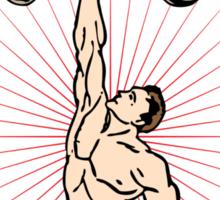Funny Shirt - Weight Lifting Sticker
