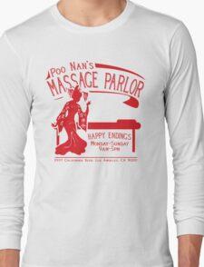 Funny Shirt - Happy Endings Long Sleeve T-Shirt