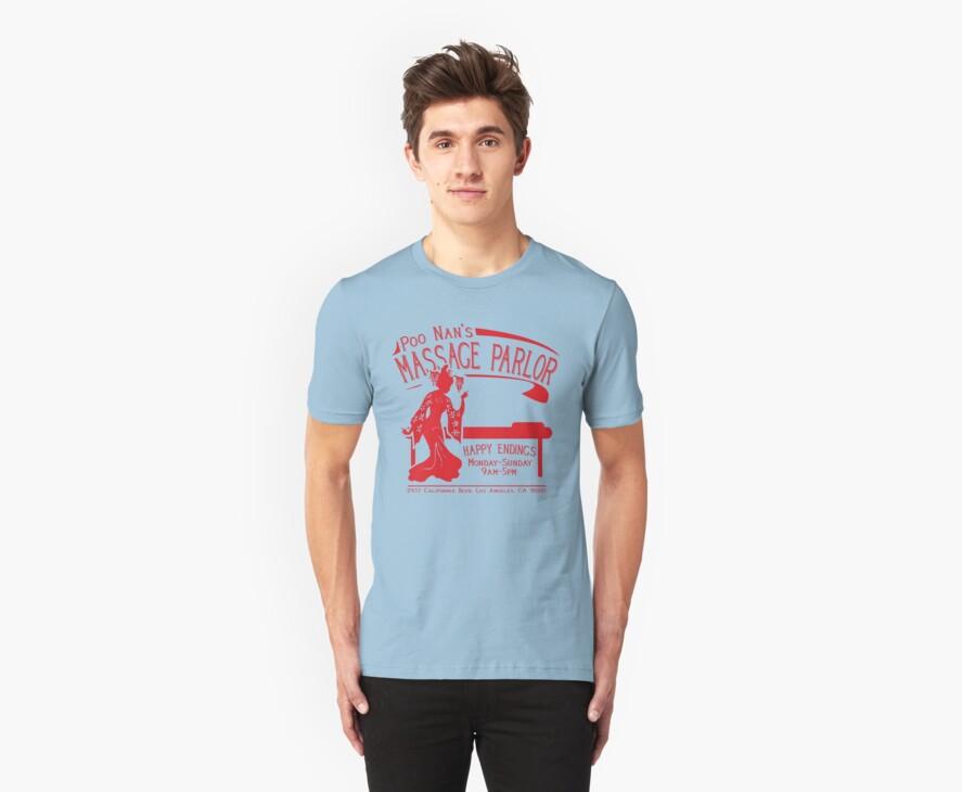 Funny Shirt - Happy Endings by MrFunnyShirt
