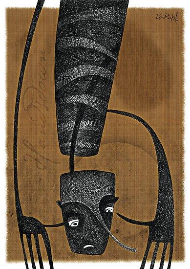 HANDSDOWN 2 - 'Snakeskin Sketchbook' series by KenRinkel