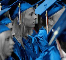 Blue Grads by Bill Gamblin