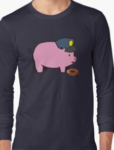 Funny Shirt - Cop Long Sleeve T-Shirt