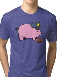 Funny Shirt - Cop Tri-blend T-Shirt