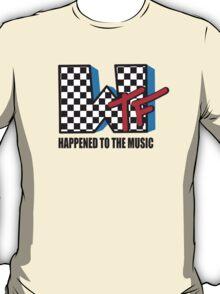 WTF Funny Music Shirt T-Shirt