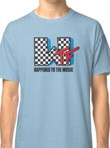 WTF Funny Music Shirt Classic T-Shirt