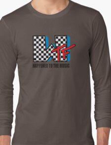 WTF Funny Music Shirt Long Sleeve T-Shirt