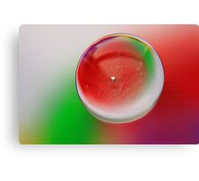 Abstract oil Canvas Print