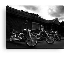 Bikers' Break Canvas Print