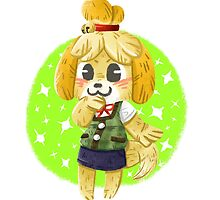 Animal Crossing - Isabelle by Aguichan