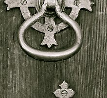 Lock And Keyhole by Lou Wilson