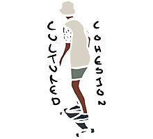 Abstract Skateboard Rider Photographic Print