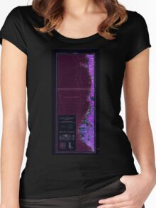USGS Topo Map California Eureka 299767 1961 250000 Inverted Women's Fitted Scoop T-Shirt