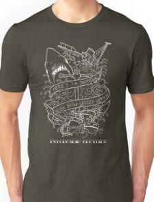 'Jaws' Tattoo design Unisex T-Shirt