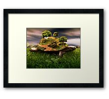 The Weight Upon My Shoulders Framed Print