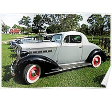 1937 Packard Six 115 Coupe Poster