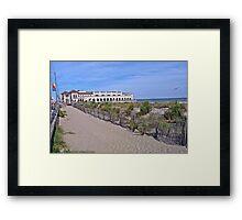 Ocean City Music Pier Framed Print