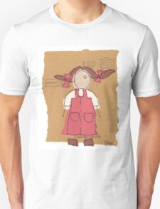 red pinafore Unisex T-Shirt