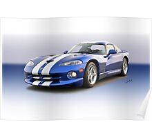 1995 Dodge Viper GTS VS6 Poster