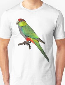 Red Capped Parrot-T T-Shirt