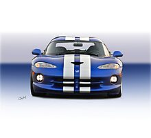 1995 Dodge Viper GTS VS3 Photographic Print