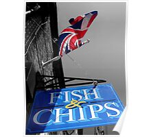Fish and Chips Poster