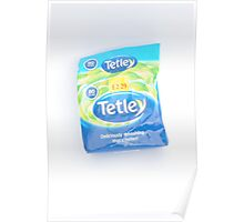 Tetley Tea Product Original  Poster
