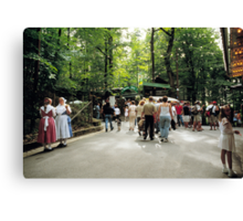 Annafest in Forchheim, Germany, 2003. Canvas Print
