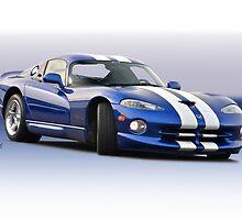1995 Dodge Viper GTS VS1 by DaveKoontz