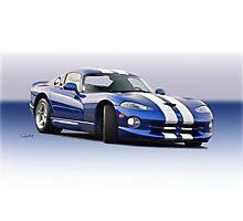 1995 Dodge Viper GTS VS1 Photographic Print