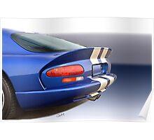 1995 Dodge Viper GTS VS5 Poster