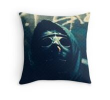 DON'T GO OUT ALONE AT NIGHT Throw Pillow