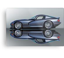 2000 Dodge Viper GTS VS4 'Mirror Image' Metal Print