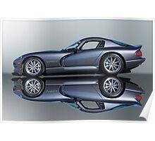 2000 Dodge Viper GTS VS4 'Mirror Image' Poster
