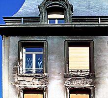 art nouveau incendié by monk-alainalele