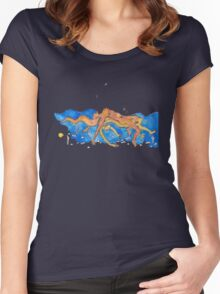Ocean Women's Fitted Scoop T-Shirt
