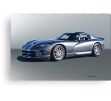 2000 Dodge Viper GTS VS2 Canvas Print