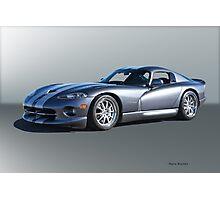 2000 Dodge Viper GTS VS2 Photographic Print