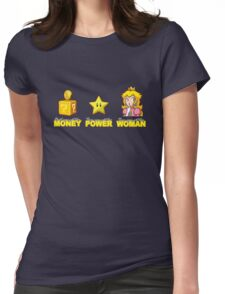 Money Power WOMAN!!!! Womens Fitted T-Shirt
