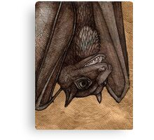 The Laughing  Bat Canvas Print