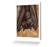 The Laughing  Bat Greeting Card