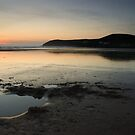 Dusk, Croyde Bay by Mark Curry